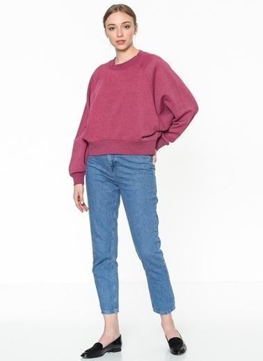 Only Sweatshirt Pembe